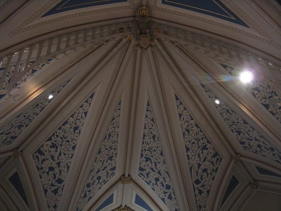 Natchez, MS: Basilica Ceiling