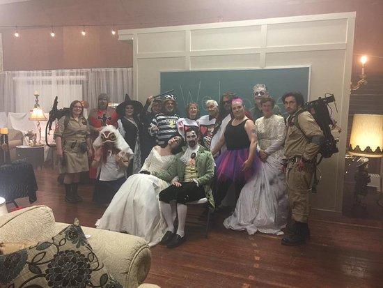 Annual Halloween Benefit Dinner 2016 at Deer Island Manor