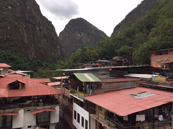 Taypikala Hotel Machupicchu: View from the room