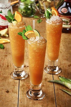 Red Door Bar: Caramelised rum punch