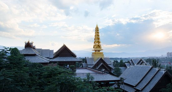 Jinghong, Cina: View from Hotel