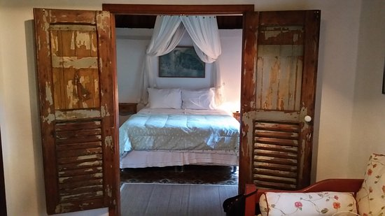 Casa Caminho do Corcovado: The romantic suite in the chalet