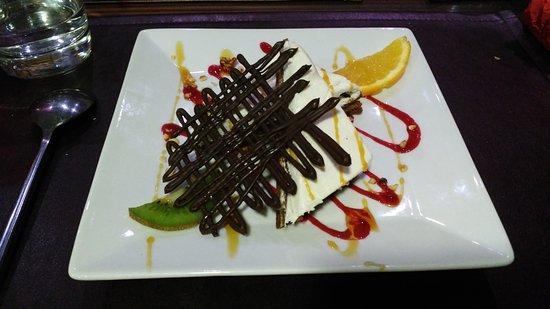 Saint-Flour, Prancis: Dessert craquant!!!