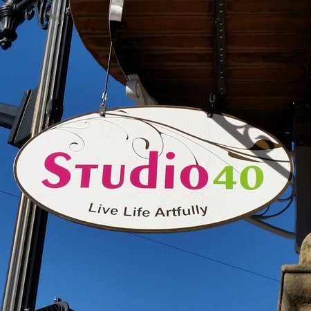 Lewisburg, Virginia Occidentale: Welcome to Studio 40.