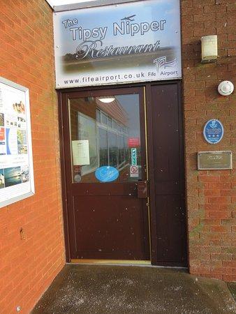 Glenrothes, UK: entrance