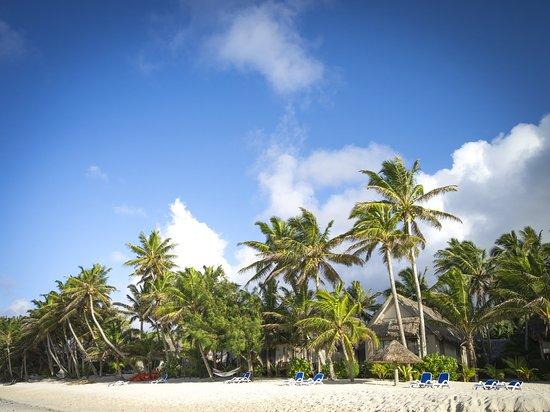 Титикавека, Острова Кука: Beach