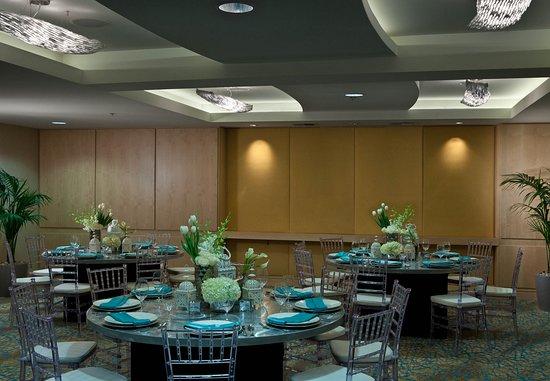 Imperial Beach, CA: Boca Rio Ballroom – Banquet Setup