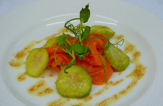 Nairn, UK: Smoked salmon