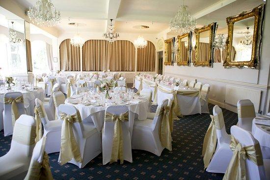 Yelverton, UK: Crystal Room - Wedding