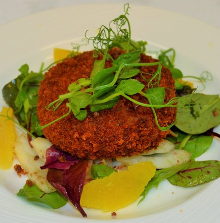 Nairn, UK: Homemade Crab Cake