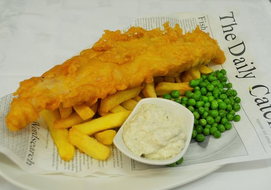 Nairn, UK: Haddock and Chips