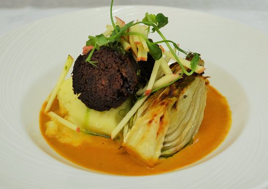 Nairn, UK: Beef Cheeks done in a shellfish bisque
