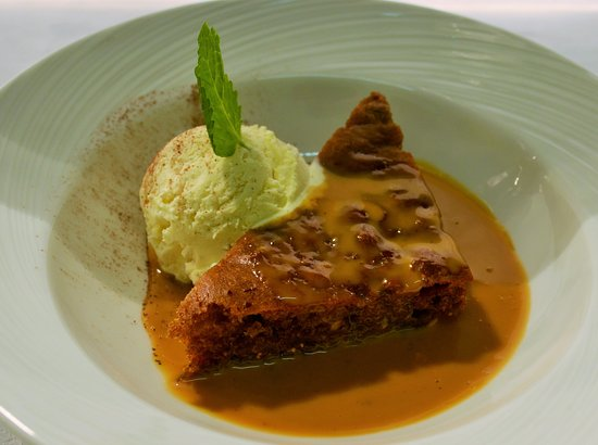 Nairn, UK: Sticky Toffee Pudding