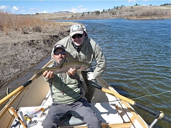 Missoula, MT: With Drew Miller from Grizzly Hackle on the Missouri
