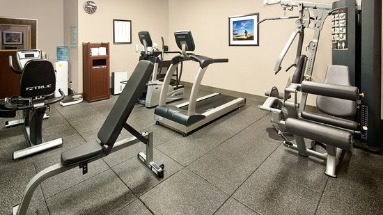 Washington, MO: Fitness Center includes free weights (not pictured)