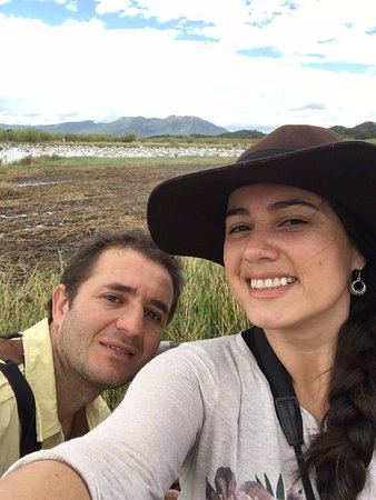 Nicoya, Costa Rica: Us birdwatching!