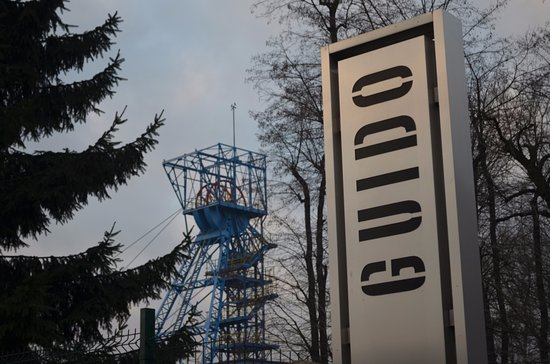 Zabrze, Poland: View of the Guido Mine