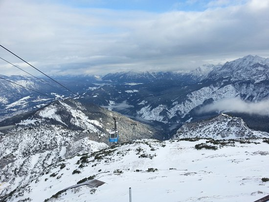 Alpspitz: The view from the cable car station