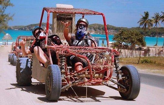 Adventure buggies in Punta Cana