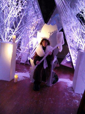 Doddington Hall & Gardens : Snow queen