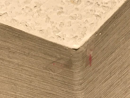 Embassy Suites by Hilton Colorado Springs: Wall paper peeling in corners and on wall