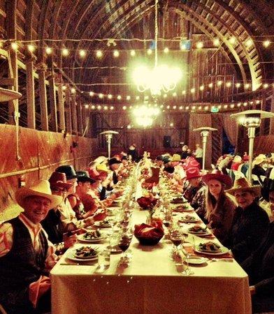 Thacher Winery: Winemaker Barn Dinner