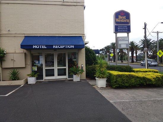 Essendon, Australia: The main reception area