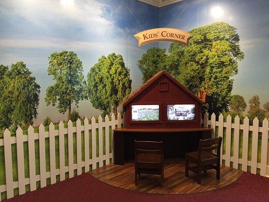 Waterloo, نيويورك: Children's exhibit in the Visitors' Center