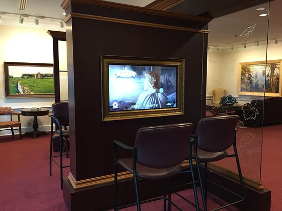 Waterloo, نيويورك: Interactive exhibit in the Visitors' Center
