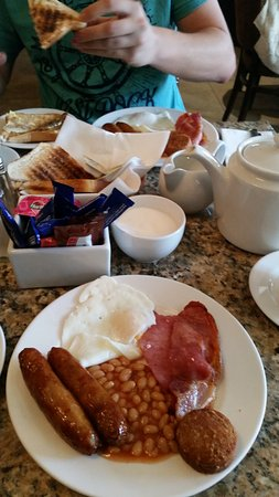 Celtic Lodge Guesthouse: Great Irish breakfast