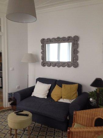 Casa Do Carmo: sala de estar