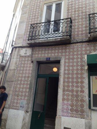 Casa Do Carmo: porta de entrada