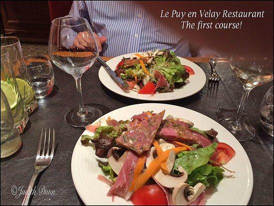 Ibis Styles Le Puy-en-Velay Centre : ...lovely large salad'