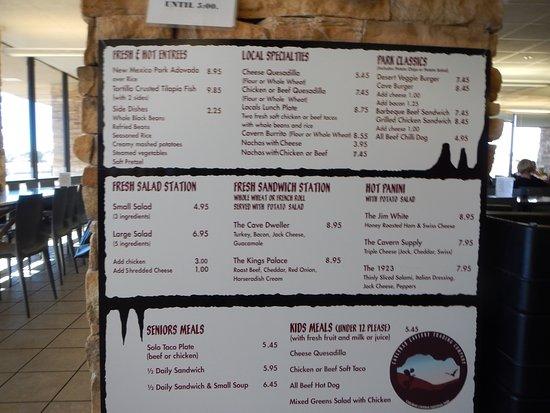 Carlsbad Caverns Restaurant-billede