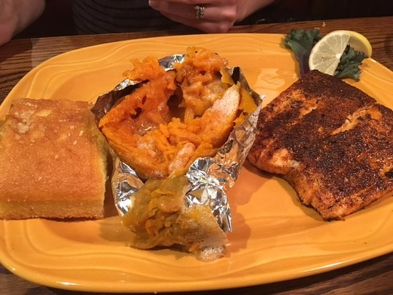 Frostburg, MD: Blackened Salmon