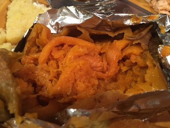 Frostburg, MD: Soggy and Mushy Sweet Potato
