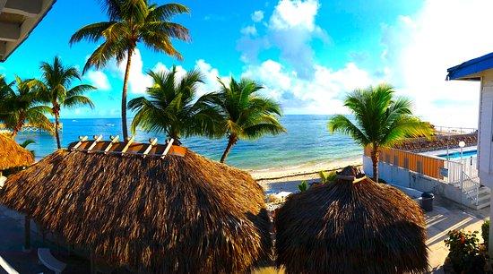Key Colony Beach Motel: Looking South
