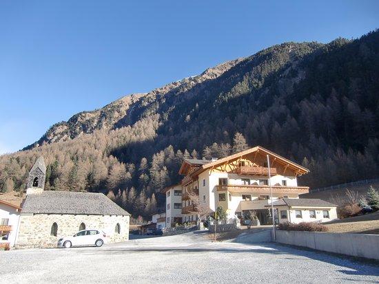 Mals im Vinschgau, Italien: vista esterna dell'albergo