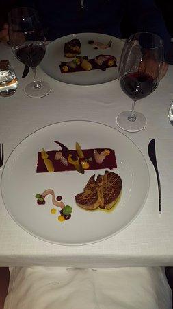 Armamar, Portugal: entrada: foies gras