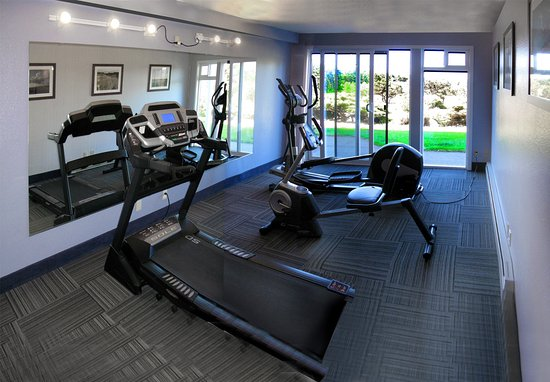 Westport, WA: If it's too cold to walk on the beach, come in and get fit in our exercise room!