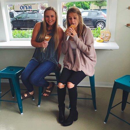 Eastsound, Waszyngton: We love our ice cream!