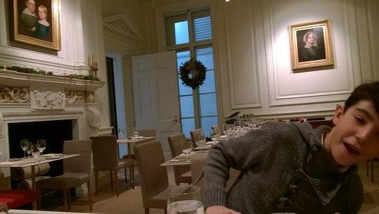 The Morgan Library Dining Room: Sala Da Pranzo
