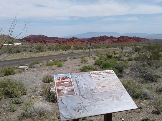 West Gate to Valley Of Fire State Park