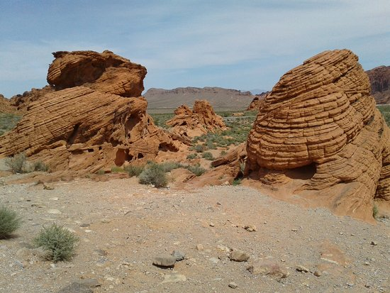 Valley of Fire State Park: Bee Hive Formations
