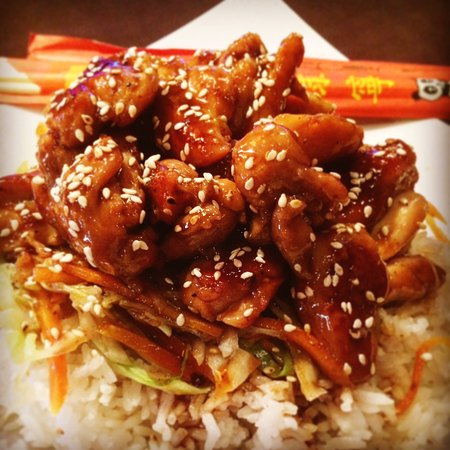 Edwardsville, IL: Chicken Teriyaki - a most traditional meal!