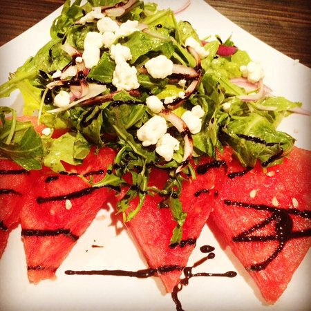 Edwardsville, IL: Watermelon salad (when in season)