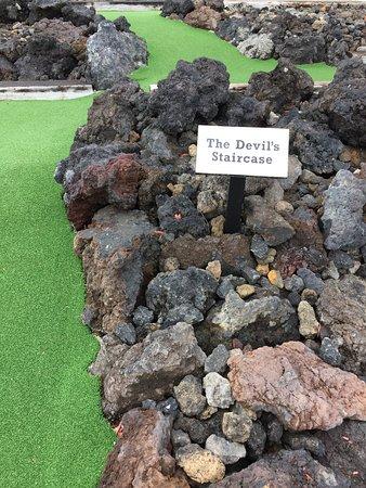 National Park Village, Nueva Zelanda: Schnapps Mini Golf