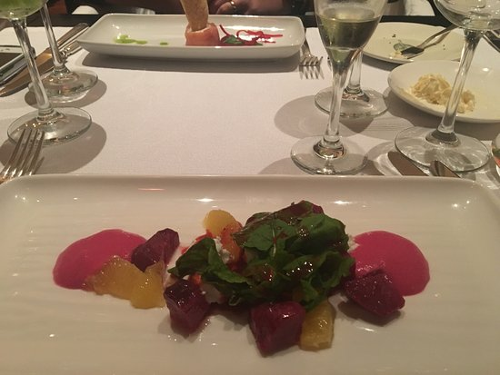 Casa Colonial Beach & Spa: Beet salad at Lucia