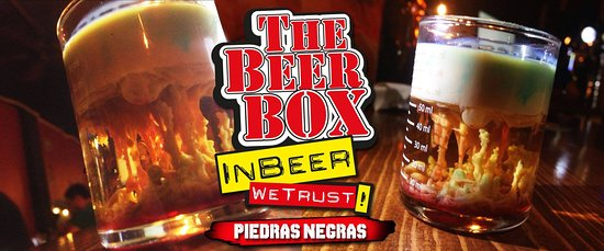 The Beer Box: Brain Hemorrage, ask for it at our bar!