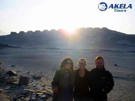 Casma, Peru: Amanecer en Chankillo con Akela Tours